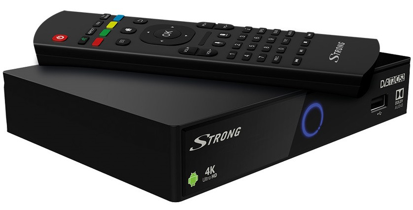 STRONG SRT2402, Android Box 4K, H.265