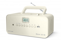 MUSE M-30BTN, prenosné rádio s CD, USB a BT