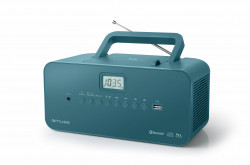 MUSE M-30BTB, prenosné rádio s CD, USB a BT